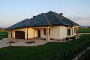 Pločevinasta streha in paroporopustna folija