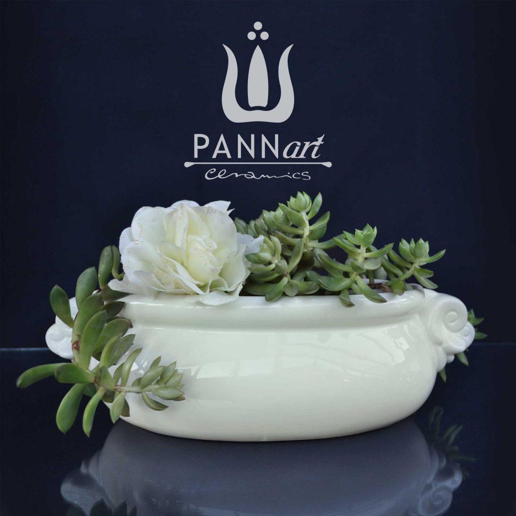keramični cvetlični lončki za rože