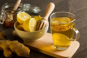 ingverjev čaj za prehlad